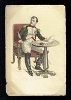 CPA 7 - Napoléon  - Portrait - Stahlstich Galerie Série 26 - Histoire