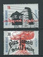België OBP Nr: 2597 - 2598  Gestempeld / Oblitérés - Europa - Bélgica