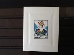 Senegal Epreuve De Luxe Seoul 1988 Jeux Olympiques MNH. - Sénégal (1960-...)