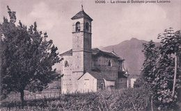 Locarno, La Chiesa Di Solduno (10095) - TI Tessin