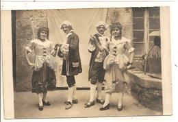 Carte Photo L'absie Acteurs Piece De Theatre 11 Septembre 1921 - L'Absie