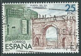 1980 SPAGNA USATO ESPOSIZIONE FILATELICA ESPAMER 25 P DA FOGLIETTO - F15-8 - Blocs & Hojas