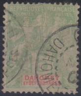 Dahomey 1901-1905 5c MiN°8 (o) - Benin – Dahomey (1960-...)