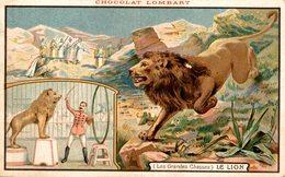 PUBLICITE Chocolat LOMBART   Les GRandes Chasses   Advertisement Advertising. - Publicidad