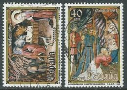 1984 SPAGNA USATO NATALE - F16-6 - 1931-Today: 2nd Rep - ... Juan Carlos I