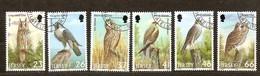 Jersey 2001 Yvertn°  986-991  (°) Oblitéré Used Cote 12 Euro  Fauna Oiseaux Vogels Birds - Jersey