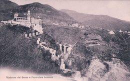 Locarno, Madonna Del Sasso E Funicolare (1012) - TI Tessin