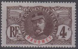 Dahomey 1906 4c MiN°20 MLH/* - Benin – Dahomey (1960-...)