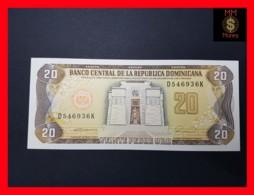 DOMINICANA 20 Pesos Oro 1990  P. 133  UNC - Dominikanische Rep.