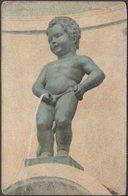 Manneken-Pis, Brussel, C.1905-10 - N Sch Briefkaart - Brussels (City)