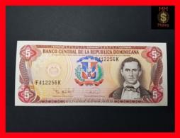 DOMINICANA 5 Pesos Oro 1995  P. 147  UNC- - Dominicaine