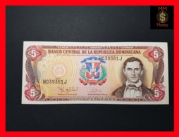 DOMINICANA 5 Pesos Oro 1997  P. 152 B   UNC- - Dominicaine
