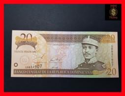 DOMINICANA 20 Pesos Oro 2002  P. 169 B  UNC - República Dominicana