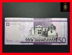 DOMINICANA 50 Pesos Dominicanos 2014  P. 189 A  UNC - Dominicaine