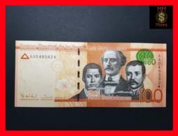 DOMINICANA 100 Pesos Dominicanos 2014  P. 190 A  UNC - Dominicaine