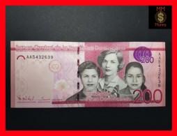 DOMINICANA 200 Pesos Dominicanos 2014  P. 191 A   UNC - Dominicaine