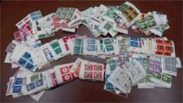 Ca. 310 Gr. Deutschland Briefmarken ** Meist Viererblöcke - Boites A Timbres