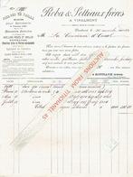 Facture 1910 - VINALMONT - ROBA & SOTTIAUX FRERES - Carrières De Pierres Bleues - Belgique