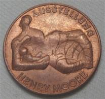 """Medaille """"Henry Moore"""" Galerie Ruf München - Pièces écrasées (Elongated Coins)"""