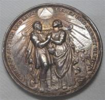 """Medaille """"Auf Die Ehe"""" Philipp Heinrich Müller Ca. 1740 - Allemagne"""