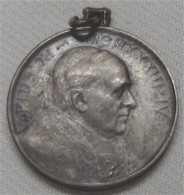 Papst Pius Xl - Religiöse Medaille Mit Öse - Jetons & Médailles