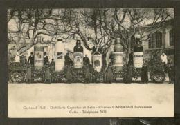 CP-CETTE (SÈTE) - Carnaval 1924 - Distillerie CAPESTAN Et SALIN - Charles CAPESTAN Successeur - Sete (Cette)