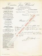 Lettre 1945 - VINALMONT - Carrières Jean WILMART - Exploitation De La Pierre Bleue Claire, Calcaires, Pavés, Sables - Belgique