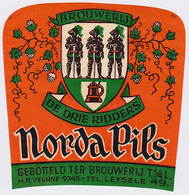 Br. Vandenbroucke / Dr Drie Ridders (Gijverinkhove) - Norda Pils - Beer