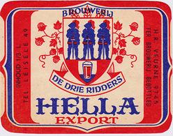 Br. Vandenbroucke / Dr Drie Ridders (Gijverinkhove) - Hella Export - Bière