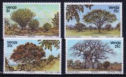 Venda 1982 Complete Set Of Stamps Celebrating Indigenous Trees 1st Series. - Venda