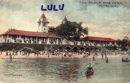ETATS-UNIS : The Beach Rye Park  N Y - Etats-Unis