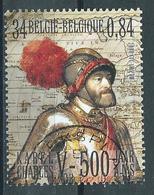 België OBP Nr: 2889  Gestempeld / Oblitéré - Karel V - Bélgica