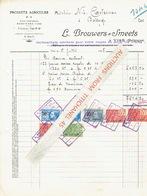 Facture 1928 - VISE - L. BROUWERS-SMEETS - Produits Agricoles - Belgique