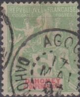 Dahomey 1901 5c MiN°7 (o) - Benin – Dahomey (1960-...)