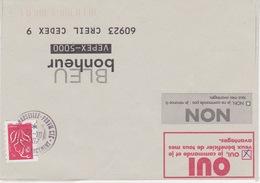Lettre 2007 TàD Manuel Centre De Tri 13 MARSEILLE PROVENCE CTC Section CABINE CHARGEMENT Bouches Du Rhône Sur Luquet - Postmark Collection (Covers)