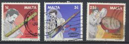 °°° LOT MALTA - Y&T N°1158/59/62 - 2001 °°° - Malte
