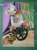 KOV 8-100- New Year, Bonne Annee, Champignon, Mushroom, Money, Argent, - Nouvel An