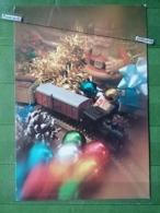 KOV 8-100- New Year, Bonne Annee, Children, Enfants, Railway, Train - Nouvel An