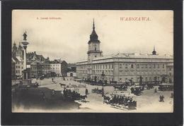 CPA Pologne Polska Polen Non Circulé Warszawa Varsovie Tramway - Polen