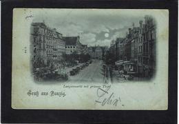 CPA Pologne Polska Polen Circulé Danzig Circulé En 1898 Précurseur Gruss - Polen