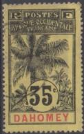 Dahomey 1906 35c MiN°26 (o) - Benin – Dahomey (1960-...)