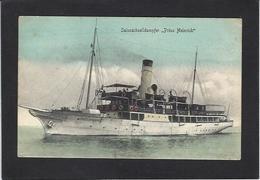 CPA Pologne Polska Polen Circulé Non Circulé Stettin Bateau Prinz Heinrich - Polen