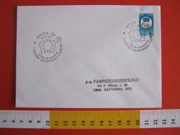 A.01 ITALIA ANNULLO - 1991 VENEZIA BANDIERA FLAG I GIOVANI INCONTRANO L' EUROPA FDC VIAGGIATA - Francobolli