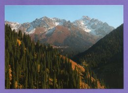 Kazakhstan 2004. Postcards. Almaty. Zailisky Alatau. The Mountains. - Kazakistan