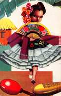 BAMBA VERACRUZANA~TYPICAL DANCE FROM VERACRUZ MEXICO 1959 POSTCARD 36594 - Mexico