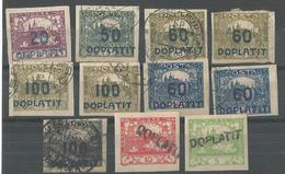Timbre Taxe - Postage Due