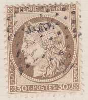 N°56 Oblitéré étoile à Identifier, TB. - 1871-1875 Cérès