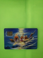 Chip Phonecard, Painting By Pierre - French Polynesia