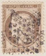 N°56 Oblitéré étoile 22, 1er Choix. - 1871-1875 Cérès