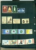 BARBADOS CONFERENCE COMMONWEALTH -CHARTE-BRIDGE-ROTARY 16 VAL NEUFS A PARTIR DE 0.80 EUROS - Barbades (1966-...)